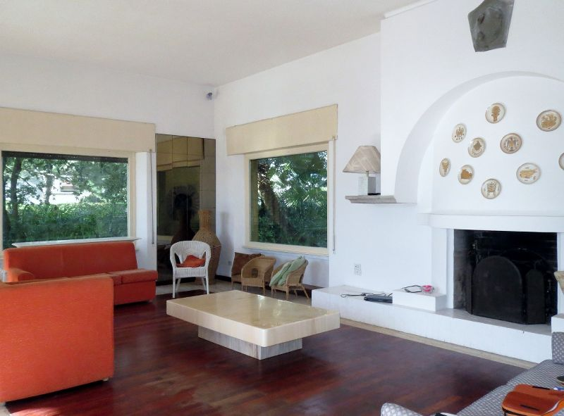 Focette, villa with garden front of the sea (10 Pax)
